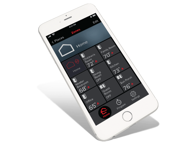 Smartphone Control For Your Ductless HVAC System